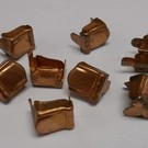 Henning's Trains 9T-5C Copper Axle Journal Box, 8 Pcs.