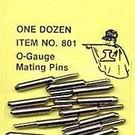 """Gargraves 801 GarGraves """"O"""" Mating Pins, 12 Pcs."""
