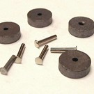 Henning's Trains V-45/ZW-102 Lionel ZW / KW Carbon Rollers & pins