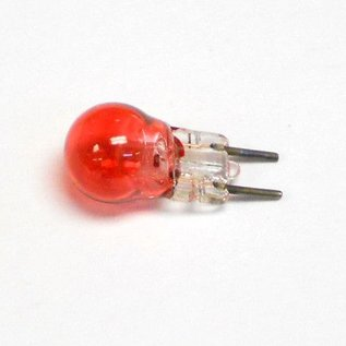 Henning's Parts 12R Red 2 Pin Bulb, 6v
