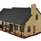 Lionel 6-37916 Beige Brick Suburban Deluxe House