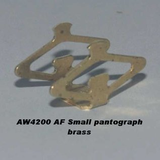 Model Engineering Works AW4200/IW4242 Pantograph w/top tabs, Brass