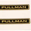 "A.F. ""Pullman"" Decal, 1 3/8"", 1 Pair"