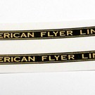 """A.F. Lines Decal, 3 1/2"""", 1 Pair"""