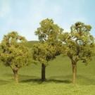 """Bachmann 32008 Elm Trees 3""""-4"""", 3Pcs."""