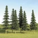 """Bachmann 32158 Spruce Trees 5""""-6"""", 24Pc"""