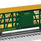 Lionel 6-26495 Chicago & North Western Poultry Car