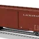 Lionel 6-29384 Lackawanna Double-Sheathed Boxcar #44153