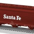 Lionel 6-27490 Santa Fe ACF Aluminum 3-Bay Hopper #314000