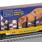 Lionel 6-26654 BSA Flatcar w/Pinewood Derby, Lionel