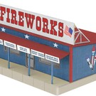 MTH 30-9093 Fireworks Road Side Stand, MTH