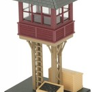 MTH 30-9097 Elevated Gate Tower/brn&blk
