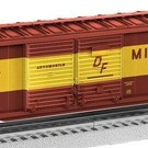 Lionel 6-17757 Milwaukee Road Scale 50' Double Door Boxcar with End Doors #13441