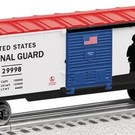 Lionel 6-29998 U.S. National Guard Made in USA Boxcar