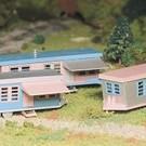 Bachmann 45612 Trailer Park Kit, Bachmann Plasticville