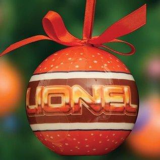 Lionel 9-21014 Lionel Logo Christmas Ornaments