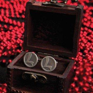 "Lionel 9-41042 Lionel ""L"" Cuff Links in Wooden Box"