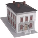 MTH 30-9099 Police Station- Gray & Black