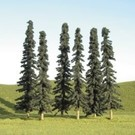 "Bachmann 32155 Conifer Bulk Trees 2""-4"", 36 pcs"