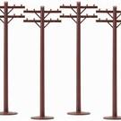 6-22360 Telephone Poles (6)
