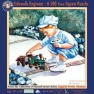 Lionel 9-32030 'Sidewalk Engineer' Puzzle (500 pcs)