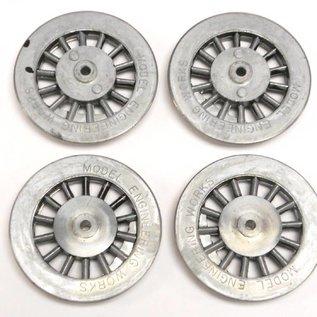 Model Engineering Works BAL-8B Black Spoke Steam Wheels 385/392/400/1835 - 8:32