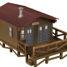 Lionel 6-82873 Loggers Cabin with sounds