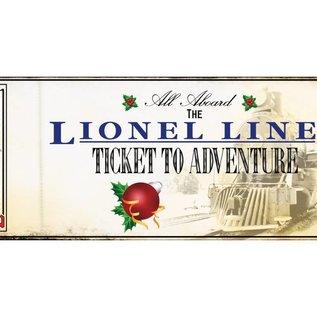 Lionel 9-22051 Lionel Lines 2015 Ticket Ornament