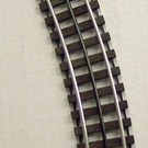 """Gargraves WT-32-101 32"""" Curved Track Section w/Wood Ties"""