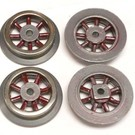 Henning's Trains SL-95 Electric Spoked Wheels, #150-250 Series, Set of 4
