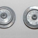 Model Engineering Works DW5204 Dorfan Wide Gauge Die-cast Zinc Wheel. 2Pc