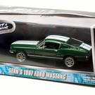86211 1967 Ford Mustang Fastback, Green/White
