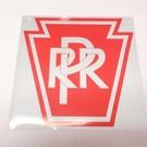 PRR Logo Reflective Decal