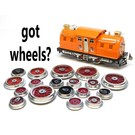 Model Engineering Works MEW Variety Wheel Set, 6 Sets