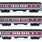 Lionel 6-58019 HO Polar Express Passenger Car 3-Pack