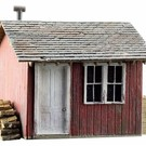 Woodland Scenics 5857 Work Shed, Built & Ready