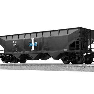 Lionel 3-16070-1 B&M 3-Bay Offset Hopper, single car, LionScale