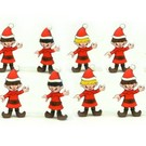 Henning's Trains Christmas Elves, 12 Pcs., O Scale Polar Express