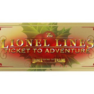 Lionel 9-22061 Lionel Lines 2016 Ticket Ornament