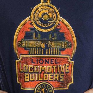 Lionel 9-51021SM T-Shirt Locomotive Buildier, Small