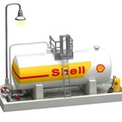 Lionel 6-83241 Shell Oil Storage Tank w/ Light