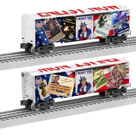 "Lionel 6-83788 Uncle Sam ""Enlist Now"" Boxcar"