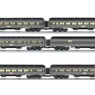 "Lionel 6-25646, 25651 Santa Fe ""The Scout"" Heavyweight Pass Set, 6-Car"
