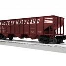 Lionel 3-16134 Western Maryland 3-Bay Hopper #70213, LionScale