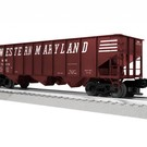 Lionel 3-16135 Western Maryland 3-Bay Hopper #70242, LionScale