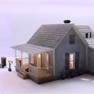 Woodland Scenics 5860 Old Homestead, O Scale (PRE-ORDER)