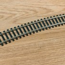"Atlas HO 153 Code 100 22""R Curve Track Section, Atlas"