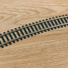 "Atlas HO 153 Code 100 22""R Curve Track Section, Atlas"