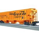 Lionel 3-16154 D&RGW PS-2 CD Covered Hopper Car #15454, LionScale