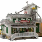 Woodland Scenics 5059 H&H Feed Mill - HO Scale